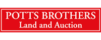 Potts Brothers Land & Auction Logo